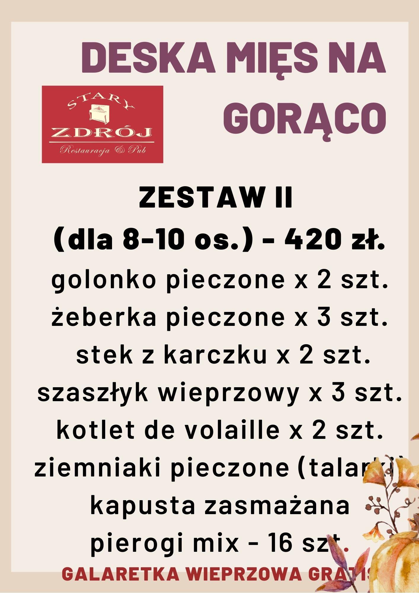 ZESTAW II